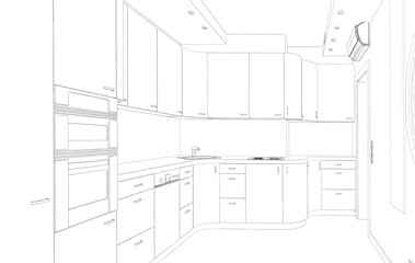 Sketch, the kitchen modern design project