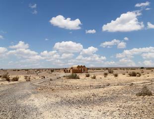 Quseir (Qasr) Amra desert castle, Jordan