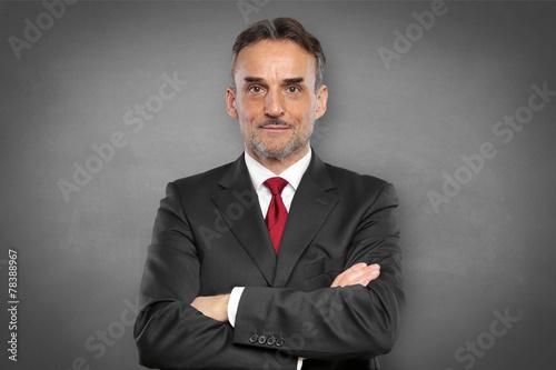 canvas print picture Businessmann