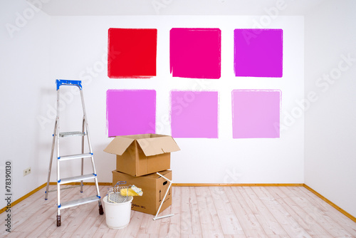 canvas print picture Wände streichen