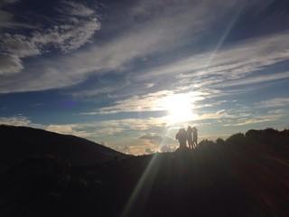 randonne levé du soleil