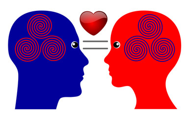 The Secret of Love is to have things in common