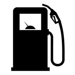 gasoline filling station vector logo design template. gasoline