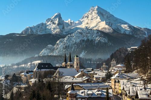 Leinwandbild Motiv Berchtesgaden
