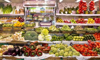 comercio de verduras y frutas