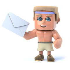 3d Bodybuilder has mail