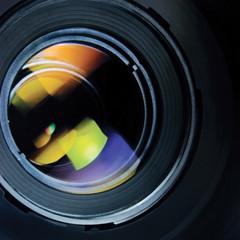 Lens hood large detailed macro zoom closeup isolated