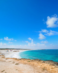 Is Arutas beach on a clear summer day