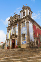 st Ildefonso Church, Porto, Portugal