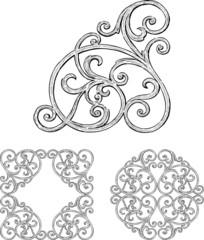 antique decorative element