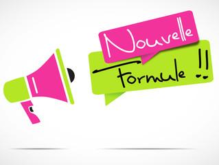 mégaphone : nouvelle formule