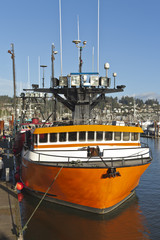 Fishing boat in Newport Oregon.