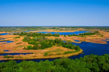 delta vorskla river scene