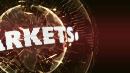 World News market markets Internet Intro Teaser orange red