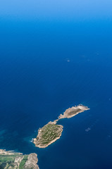Saint Paul's Islands in Malta from the air