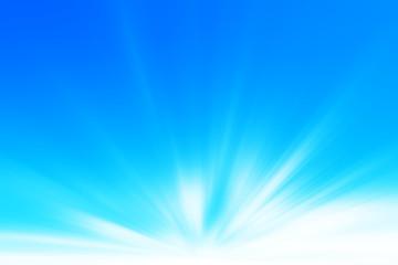 Raggi di luce solare