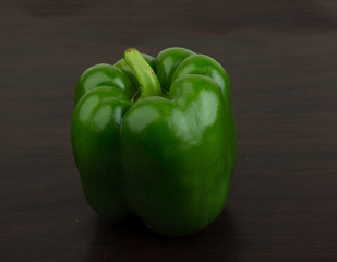 Green Bulgarian pepper