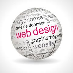Sphère Web design