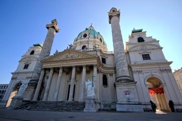 Vienna / karlskirche Karl's church