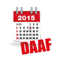 8 mars 2015 DAAF - détecteur avertisseur autonome de fumée