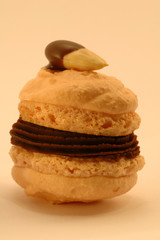 small almond cookie