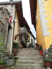 Borromäische InseI Isola Pescatori - Lago Maggiore Italien