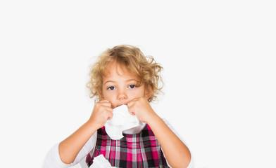 bambina allergica