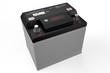 Leinwanddruck Bild - black battery car