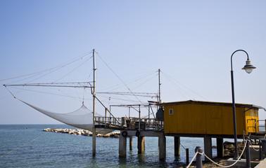 Adriatic Sea Trabucco