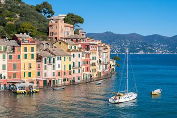 The promenade of Portofino