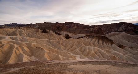 Dramatic Light Badlands Amargosa Mountain Range Death Valley