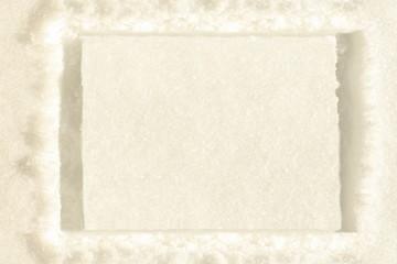 snow square frame background