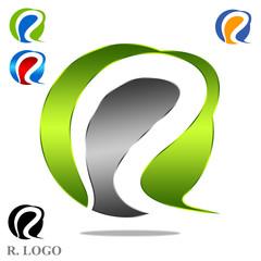R. Logo