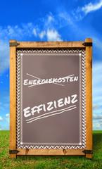 Strassenschild 34 - Effizienz