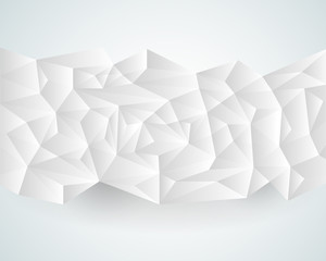 Abstract polygonal paper background