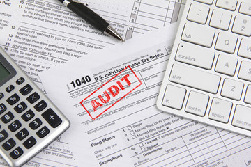 Filing online taxes and being audited
