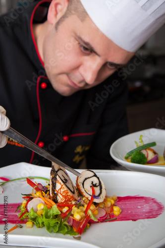 preparing food - 78412913
