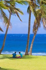plage de Grand'Anse, sud de l'île de la Réunion