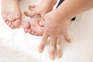 エステサロン フットマッサージ  Massage of the foot