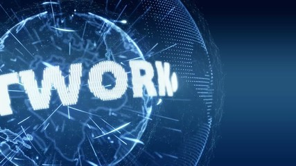 World News Network Internet Intro Teaser blue