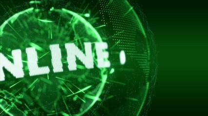 World News Online Internet Intro Teaser green