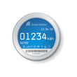 Smart meter illustration - 78417991
