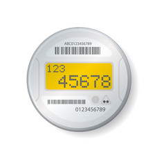 Smart meter illustration