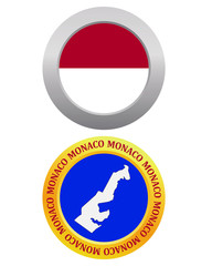 button as a symbol  MONACO
