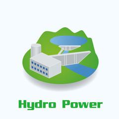 Hydro Power image illustration