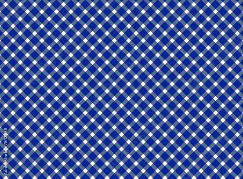 canvas print picture Tischdecken-Hintergrund dunkelblau