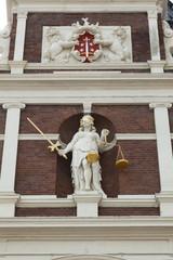 Lady Justice  Haarlem, Netherlands