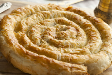 Moroccan Snake Shaped Pastry