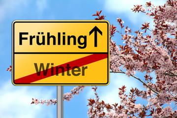 Frühlingsanfang Jahreszeit Wechsel Blüten Frühling