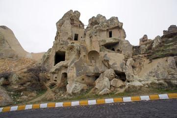 cave city Goreme, Cappadocia, Turkey
